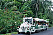 Le Petit Train Tourist Transportation,Moorea, French Polynesia