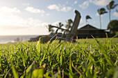 Lawn Chair, Hotel Hana-Maui, Hana, Maui, Hawaii, USA
