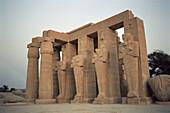 Deserted temple ruin, Luxor, Egypt