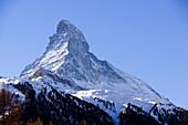 View to the Matterhorn, Zermatt, Valais, Switzerland