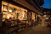 A souvenier shop at Bahnhofstrasse, Zermatt, Valais, Switzerland