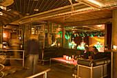 Part of the Vernissage Club, Design by Heinz Julen, Zermatt, Valais, Switzerland