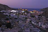 Palastbezirk von Muscat,Oman, Asien