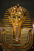 King Tutankhamun Golden Funeral Mask,Eqyptian National Museum, Cairo, Egypt