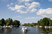 Connoisseur Caprice Houseboat on Kleiner Wannsee,Berlin, Germany