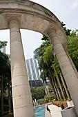 Architectural Contrast, Mong Kok, Kowloon, Hong Kong