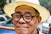 Man with +3,50 Dioptrine Glasses,Chongqing, China