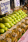 Thai food offered at Suan Chatuchak Weekend Market, Bangkok, Thailand