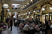 Queen Victoria Market Building, shopping mall, Café, restaurant, state Capital of New South Wales, Sydney, Australia