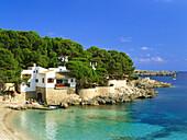 View of bay Cala Gat, near Cala Ratjada, Mallorca, Spain