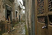 small lane, Nanping village, ancient village, living museum, China, Asia, World Heritage Site, UNESCO