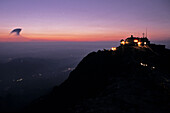 dawn, sunrise,  summit, Tai Shan, Shandong province, Taishan, Mount Tai, China, Asia, World Heritage, UNESCO