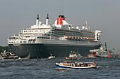 Queen Mary 2 - Harbour Hamburg,Hamburg Germany