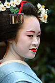 A Geisha in Training, Maiko Masayo, Kyoto, Japan