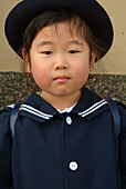 Young japanese schoolgirl, Takayama, Hida district, Japan