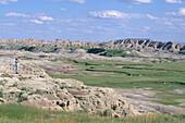 Badlands National Park,Grassy Tables Overlook, Badlands National Park, South Dakota, USA