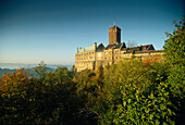 View to Wartburg, Eisenach, Thuringia, Germany