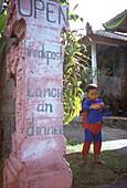superman, young boy, bali, indonesia