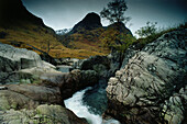 Glen Coe, considered to be one of the most spectacular and beautiful places in Scotland, Highlands, Scotland, Great Britain
