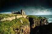 Slains castle ruins, Grampian, Aberdeenshire, Scotland, Great Britain