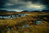View to Loch Torridon, Highlands, Scotland, Great Britain