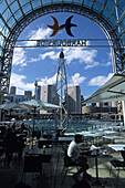 Cafe in Harbourside Shopping Complex, Darling Harbour, Sydney, New South Wales, Australia