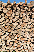 Close-up of a pile of wood, Logs, Firewood