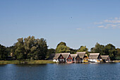 Lakeside Holiday Homes, Lake Mirow, Mirow, Mecklenburg Lake District, Mecklenburg Western Pomerania, Germany