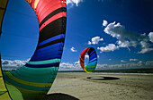 Kite festival, Norderney island, East Frisian Islands, Germany