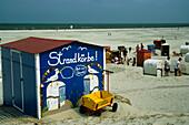 Beach life, Juist, East Frisia, Germany