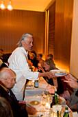 Charles Schuhmann in his Restaurant Schuhmann´s, Well known Barkeeper in Munich, Bavaria, Germany, Schuhmanns, Nightlife, Bar