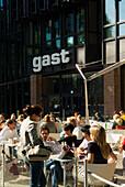 Restaurant gast, Gasteig, Stadtteil Haidhausen, Muenchen, München, Bayern, Deutschland, Reise