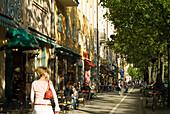 Cafes im Stadtteil Haidhausen, Muenchen, München, Bayern, Deutschland, Reise