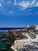 Natural pool, Castillo San Miguel, Garachico, Tenerife, Canary Islands, Spain