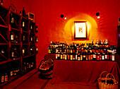Sales room of a wine-growing estate, Casa del Vino, El Sauzal, Tenerife, Canary Islands, Spain