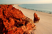 Beach at Cape Leveque, Sandstone Coast, Aboriginal Land, Dampier Peninsula, Kimberley, Western Australia, Australia