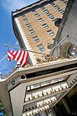 Exterior view of the Mayflower Hotel, Washington DC, America, USA