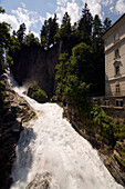 Gastein Waterfall (341 m), Bad Gastein, Gastein Valley, Salzburg, Austria