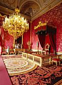 Throne room, Appartamenti Reali, Palazzo Pitti, Florence, Tuscany, Italy