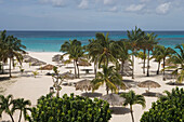 Strand des Bucuti Beach Resort, Aruba, ABC-Inseln, Niederländische Antillen, Karibik