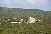 Die Kirche von St. Willibrordus, Curacao, ABC-Inseln, Niederländische Antillen, Karibik