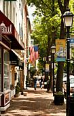 Main Street, Alexandria, Virginia, United States