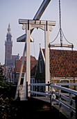 Edam, Kwakelbrug drawbridge, Netherlands, Europe