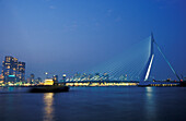 Rotterdam, Erasmusbridge , Netherlands, Europe