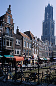 Utrecht, Oude Gracht, Netherlands, Europe