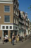 Prinsengracht, Amsterdam, Holland, Netherlands