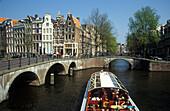 Keizersgracht, Leidsegracht, Amsterdam, Netherlands, Europe