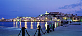 Ibiza City, Oldtown and harbour, Ibiza, Balearic Islands, Spain