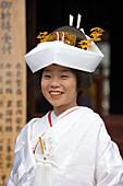 Asia, Japan, Tokyo, Asakusa Temple, wedding