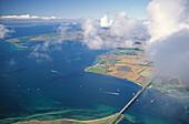 Fehmarnsund Bridge, Fehmarn Island, Schleswig-Holstein, Germany